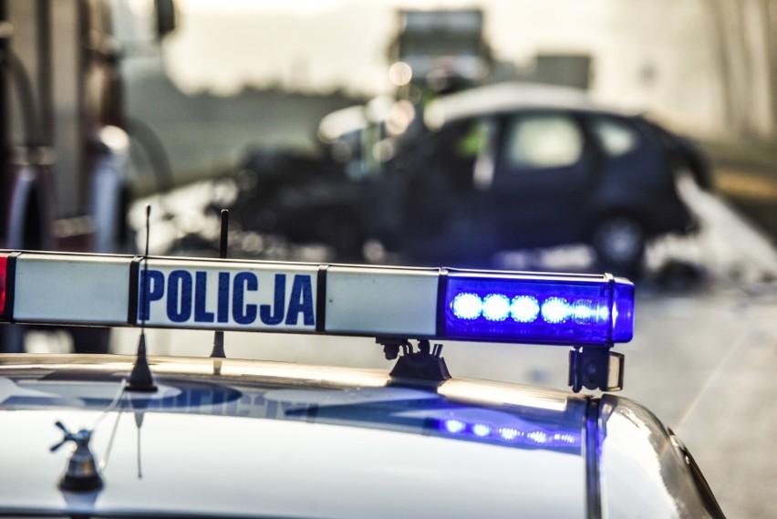 Wypadek na trasie Barcin-Mogilno. Utrudnienia w ruchu