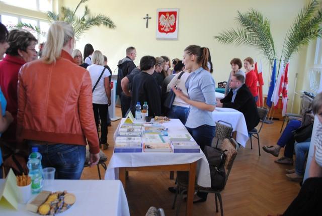 Punkt Pośrednictwa Pracy w Golubiu-Dobrzyniu o wakacyjnych ofertach informował m.in. podczas targów pracy w ubiegłym miesiącu