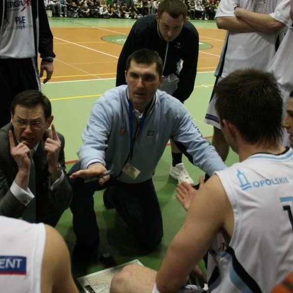 Trenerzy Dariusz Nawarecki (z lewej) i Tomasz Wilczek współpracowali ze sobą przez dwa lata. Teraz samodzielnie zespół poprowadzi Wilczek.