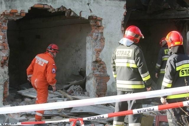 Katastrofa budowlana w Zabrzu. Zawalił się strop budynku