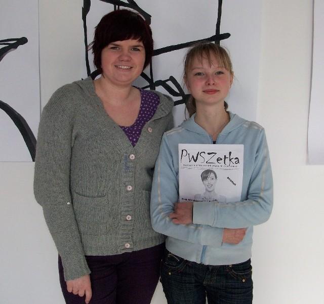 Dzięki chęciom i determinacji Joanny Jankowskiej w grudniu ukazał się pierwszy numer PWSZetki.