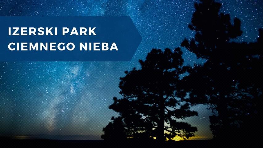 Izerski park ciemnego nieba położony jest w paśmie Sudetów....