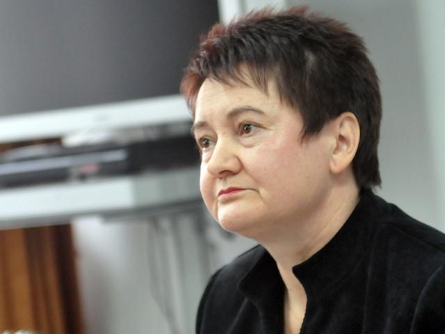 Wiesława Basak, zastępca Prokuratora Okręgowego w Krośnie