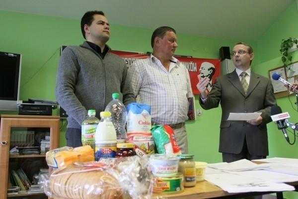 Muszyc, Backiel i Bartnik przed dziennikarzami