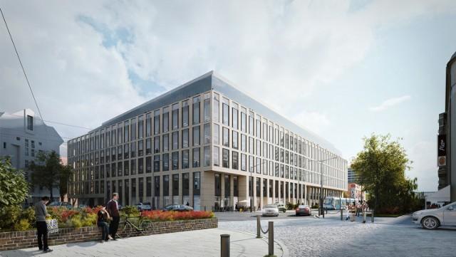 Nobilis Business House - nowy biurowiec tuż obok Pasażu Grunwaldzkiego