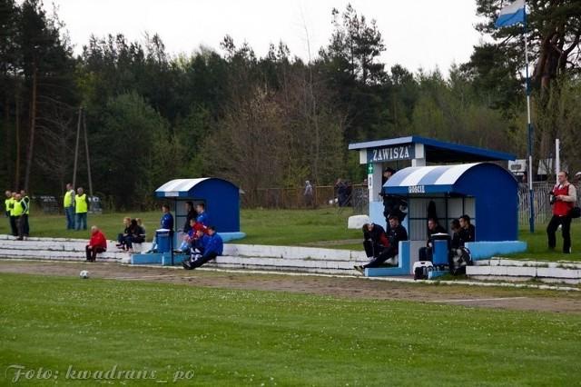 Ósmej w tabeli Zawiszy Pajęczno udało się zdobyć w spotkaniu z Łódzkim Klubem Sportowym jeden punkt.