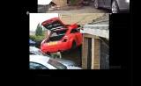 Audi TT wjechało w dom! [FILM]