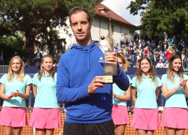 Richard Gasquet wygrał w Szczecinie w 2017 r. Grał dzięki dzikiej karcie.