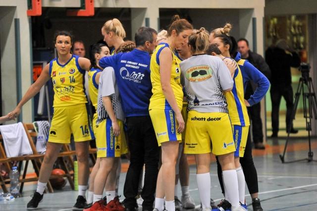 Koszykarki Chrobrego Basket Głuchołazy w sezonie 2018/19.