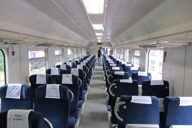 Część wagonów z jakich składają się pociągi spółki PKP IC wyprodukowana została w Poznaniu. Podróż nowoczesnymi  wagonami jest coraz przyjemniejsza.