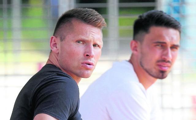 Marcin Robak i Krystian Nowak czekają na pierwszy mecz nowego sezonu. Z jakimi kolegami?