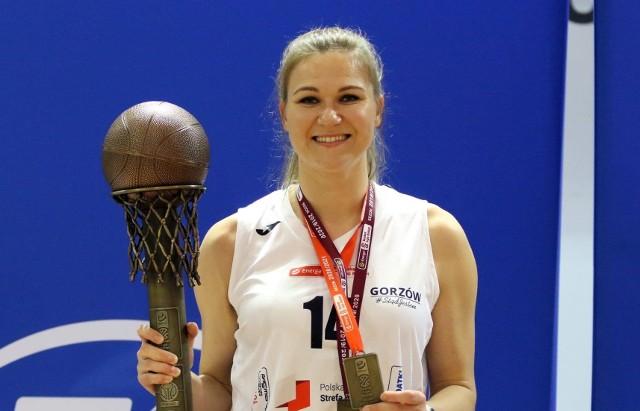 Agnieszka Kaczmarczyk w AZS AJP Gorzów