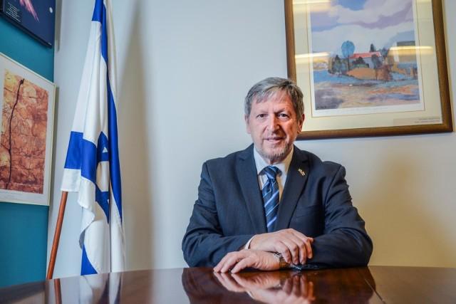 Ambasador Izraela: Kwestię zwrotu majątków trzeba jakoś rozwiązać.