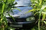 Policjanci z Augustowa zatrzymali kierowcę, który nie posiadał prawa jazdy i uciekał w pole ... kukurydzy