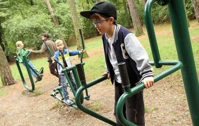 Niektóre urządzenia siłowni plenerowej w parku na Bydgoskim Przedmieściu wymagają naprawy - sygnalizuje nasz Czytelnik