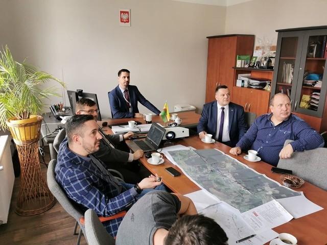 Spotkanie dotyczące obwodnicy Droszkowa