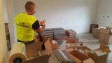 Krajowa Administracja Skarbowa z Łodzi wspólnie z Morskim Oddziałem Straży Granicznej w Gdańsku przechwycili 174 tysiące sztuk papierosów