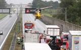 Dwa razy więcej wypadków na autostradach! Nasza AOW liderem. Kierowcy nie potrafią jeździć autostradami?