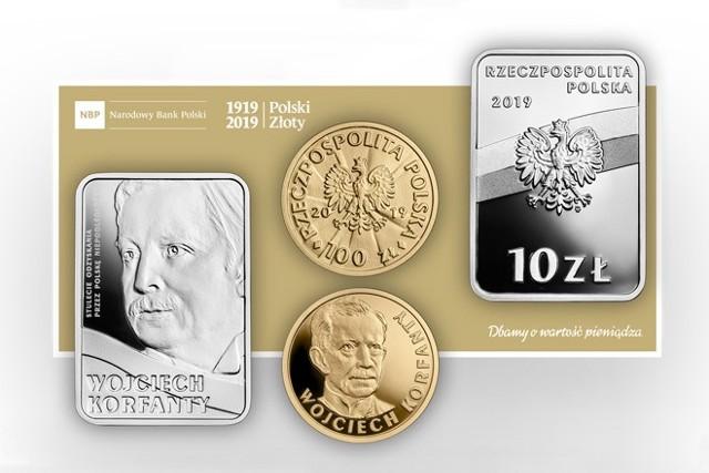 Wojciech Korfanty znalazł się na monetach