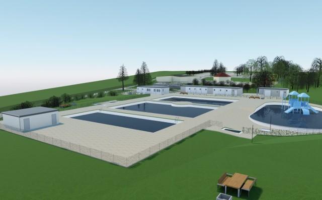 Tak będzie wyglądał nowy kompleks basenów w Parku Grabek w Czeladzi Zobacz kolejne zdjęcia/plansze. Przesuwaj zdjęcia w prawo - naciśnij strzałkę lub przycisk NASTĘPNE