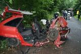 Wypadek w Dobiecinie: Kierowca opla nie miał prawa jazdy
