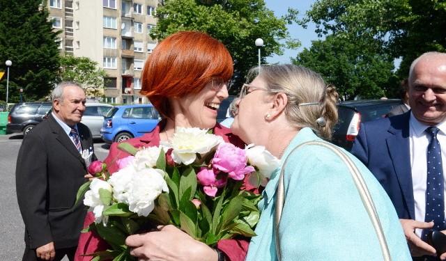 Witana Minister Rodziny, Pracy i Polityki Społecznej Elżbieta Rafalska