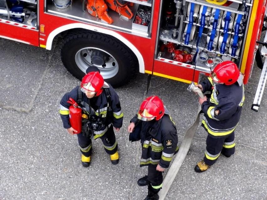 Pożar wybuchł w domu przy ul. Spokojnej w Redzie