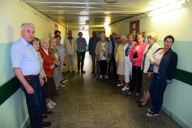 Mieszkańcy liczą na to, że gabinet lekarski jeszcze wróci do Domu Złotej Jesieni w Inowrocławiu