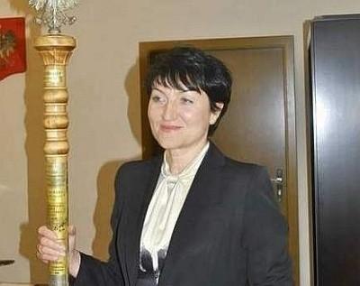 Marszałek Elżbieta Polak.