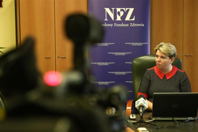 Wioletta Niemiec, dyrektor NFZ we Wrocławiu