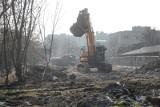 Kraków. Rozpoczęły się wyburzenia na terenie Wesołej [ZDJĘCIA]