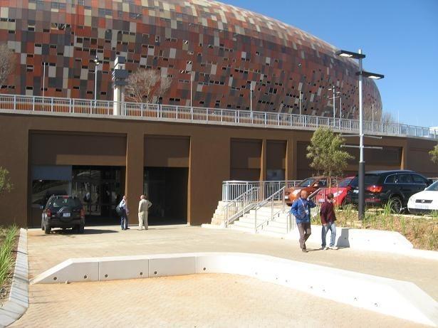Kibice na Soccer Stadium w Johannesburgu przeżyli w niedzielę chwile niepewności