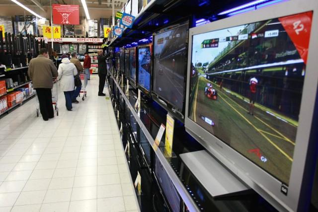 W hipermarketach można kupić niemal wszystko