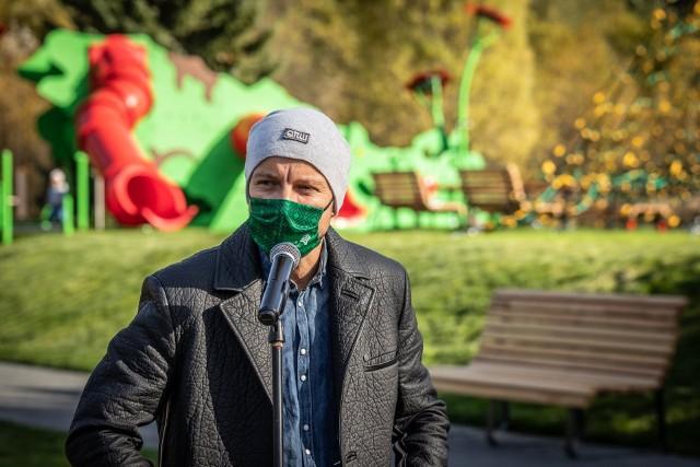 Otwarcie placu zabaw w Parku Śląskim