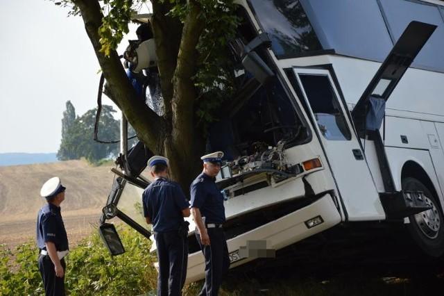 Wypadek autobusu z pracownikami Amazona, 01.09.2015