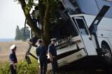 Wypadek autobusu z pracownikami firmy Amazon. Nie żyje kierowca, 13 osób rannych