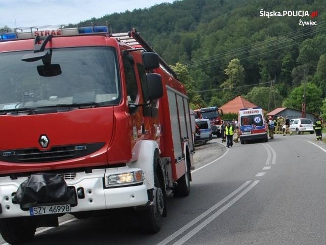 Do wypadku w Kocierzu Moszczanickim doszło 26 lipca.