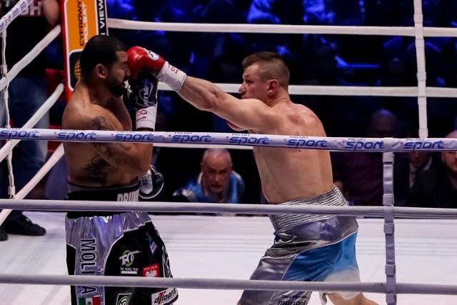02.04.2016 krakow polsat boxing night tauron arena krakow tomasz adamek eric molina fot. anna kaczmarz / dziennik polski / polska press