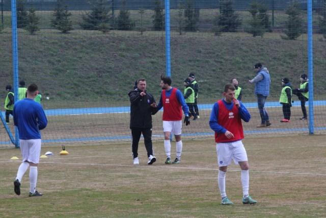 Mecz Olimpia Zambrów kontra Siarka Tarnobrzeg