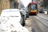 Auta blokują tramwaje. Już w 2021 r. pojazdy MPK Łódź zaliczyły ponad 14 godzin przestojów