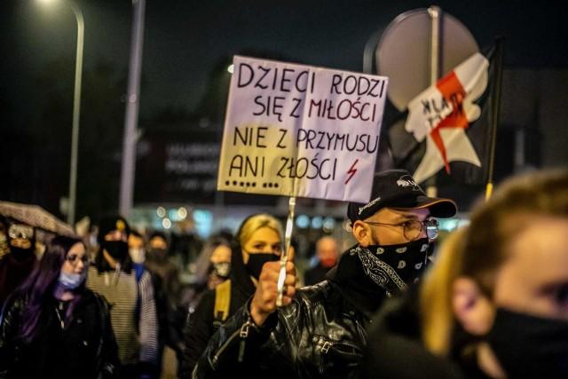 Zdjęcie ilustracyjne. Jeden z protestów przeciwko orzeczeniu Trybunału Konstytucyjnego