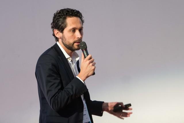 """O Wroclavii mówił Laurent Charon z firmy Unibail-Rodamco podczas  konferencji """"Startup: Wrocław"""""""