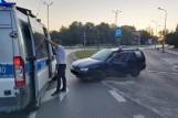 Pijany kierowca potrącił policjanta, który zatrzymał go poza służbą