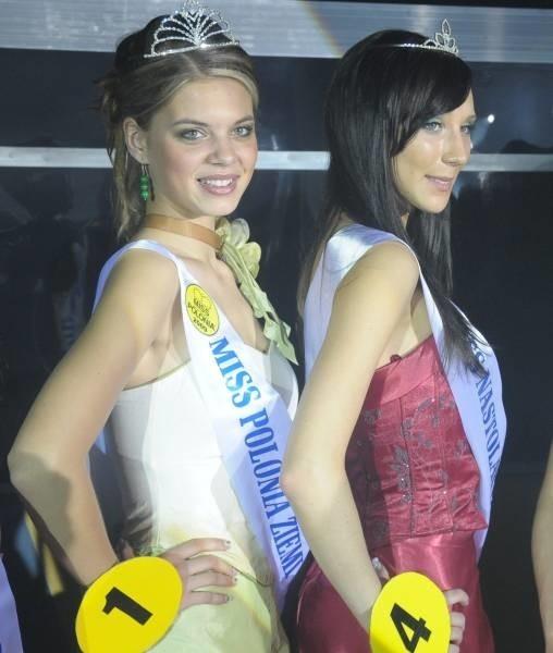 Miss Polonia Marlena Kąpała (z lewej) oraz Miss Nastolatek Karolina Jędrzejewska z Krapkowic.