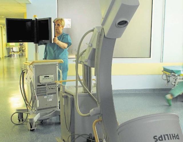 """Jedno z urządzeń zakupionych do ośrodka leczenia bólu w """"Rydygierze"""""""