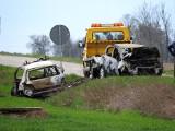 Szepietowo Żaki. Policjant na służbie zginął w wypadku. To starszy posterunkowy Damian Kryński z KPP Wysokie Mazowieckie