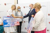 Duma naszego regionu - olimpijczycy odebrali gratulacje od władz województwa