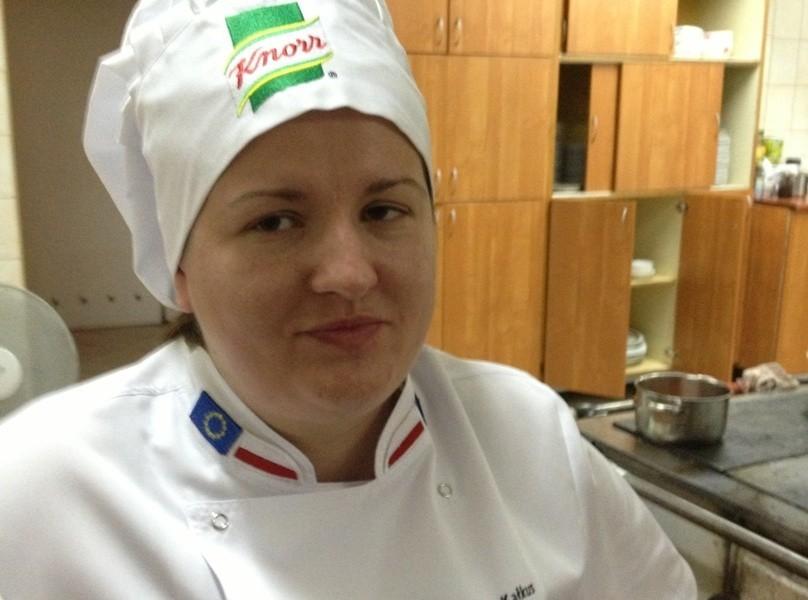 """Anna Kałkus prowadzi w Gorzowie Bar ,,U Ani""""."""