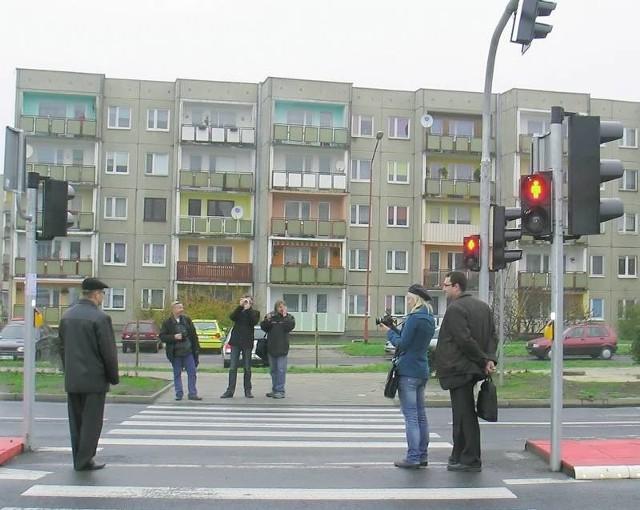 Nowa sygnalizacja działa od ponad tygodnia. Jest jedną z pierwszych inteligentnych sygnalizacji na Dolnym Śląsku.