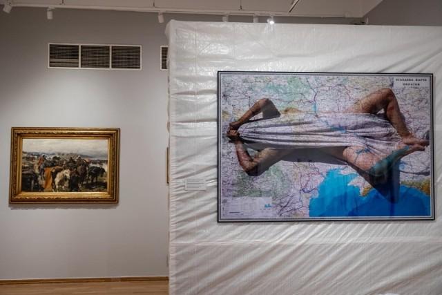 """Wystawa """"Ukraina. Wzajemne spojrzenia"""" ma zachęcać do refleksji nad bliskością Ukrainy i Polski"""